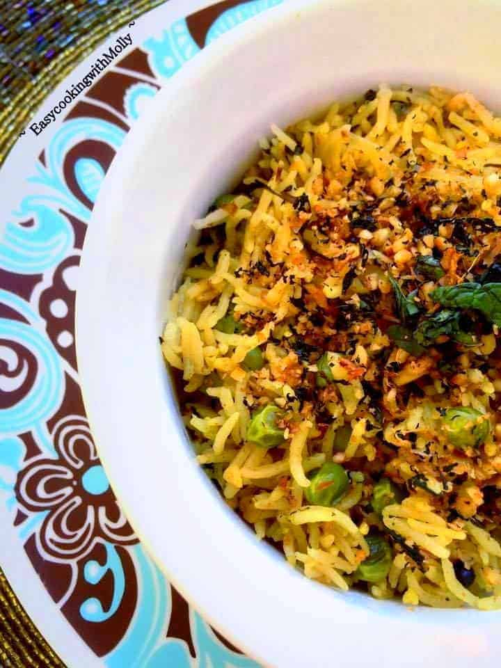 Indian Mint Pulao Recipe