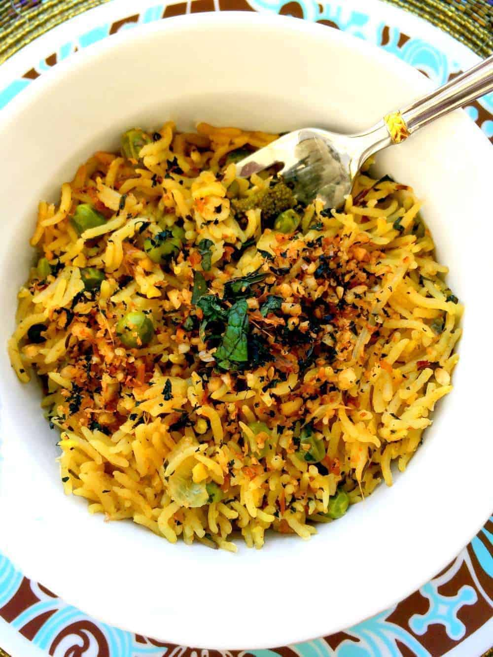 Vegan Indian Mint Rice