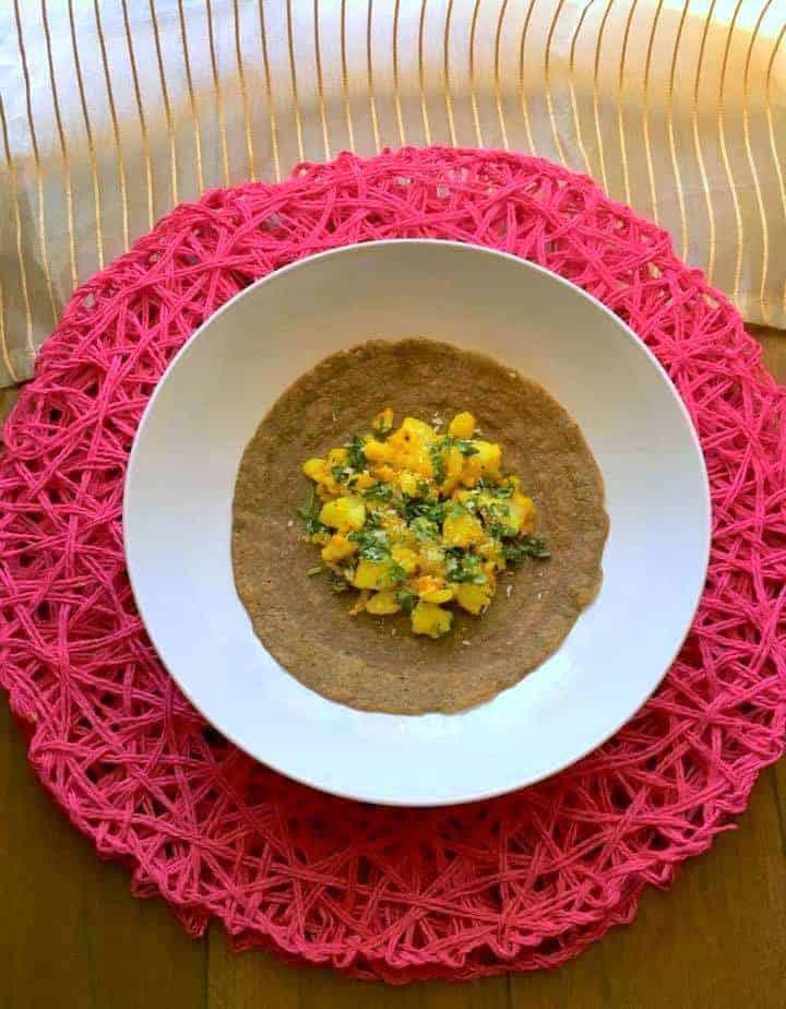 Healthy Buckwheat Crepes navratri