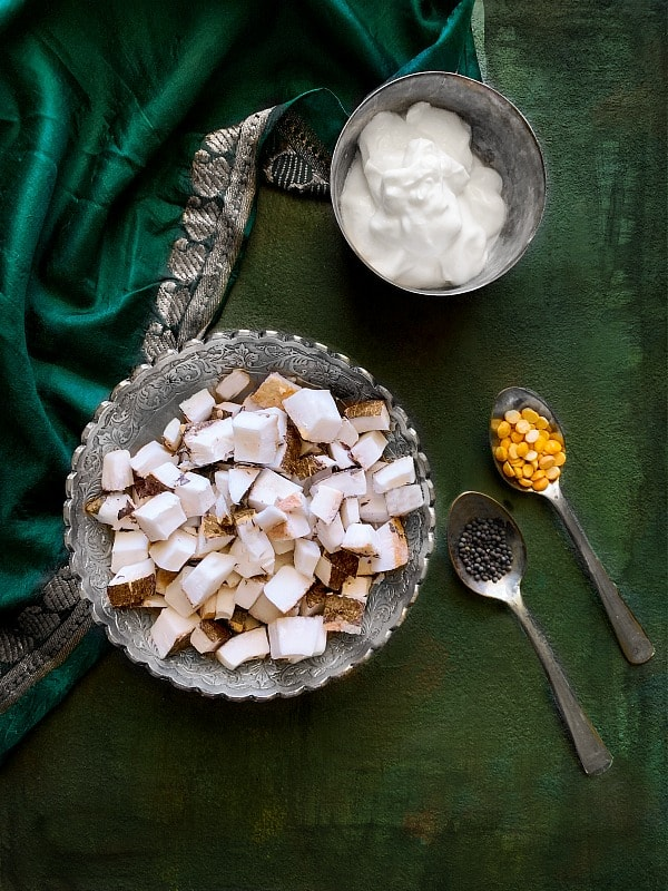 Instant Coconut Chutney Ingredients