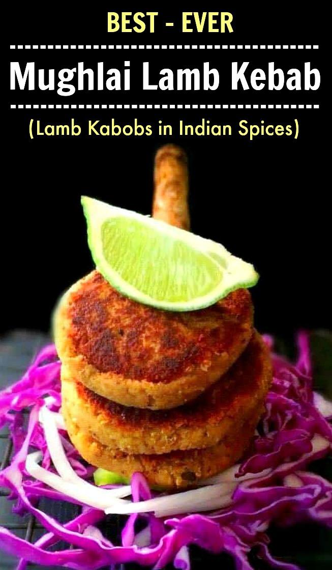 Mughlai Lamb Kebab
