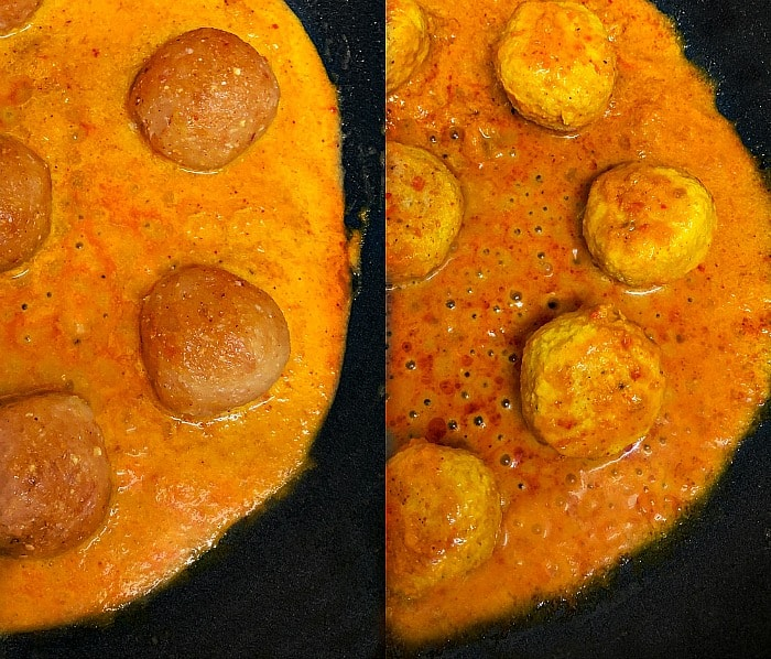 how to make indian chicken kofta curry