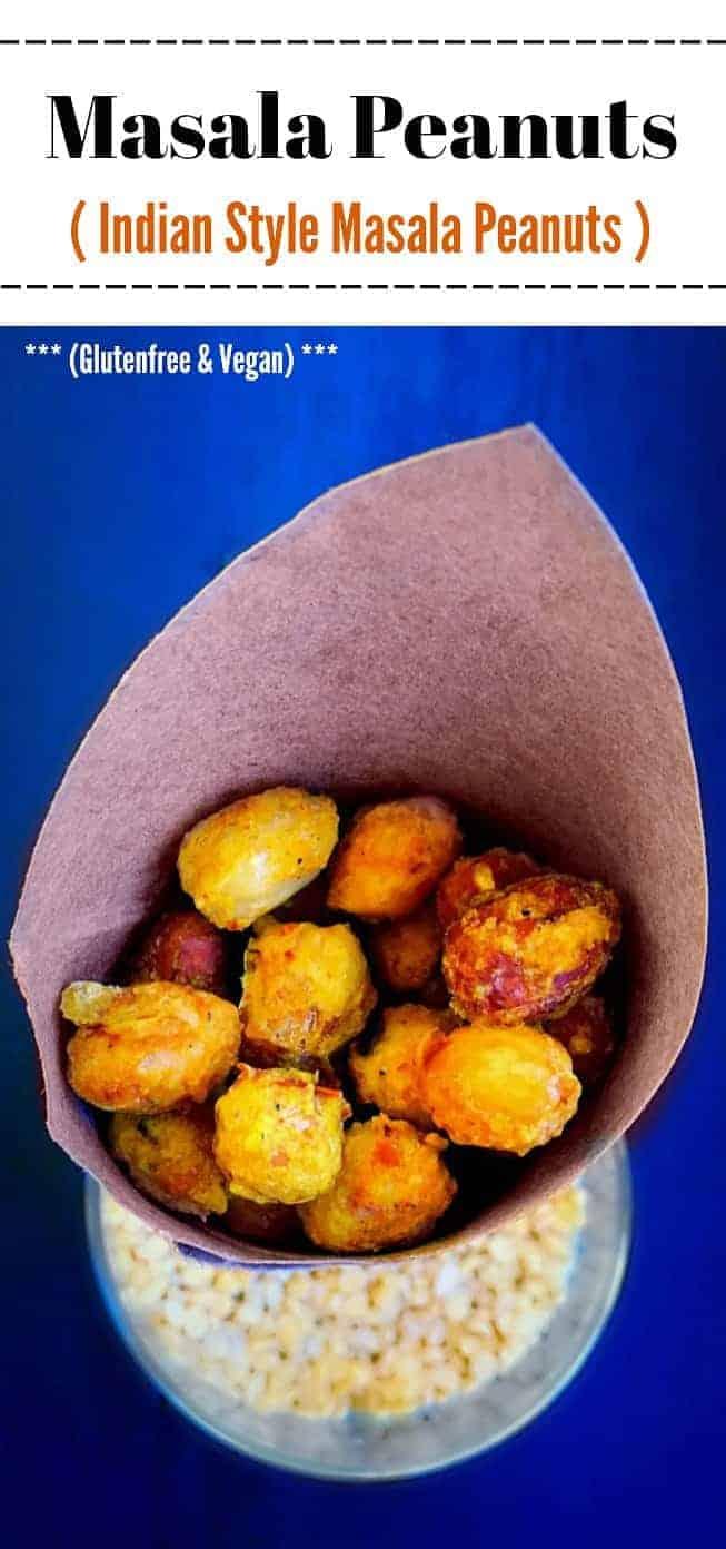 Masala Peanuts Recipe: #masala #peanuts #snack #indianfood