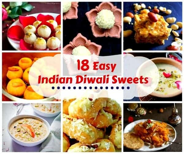 18 Easy Indian Diwali Sweets