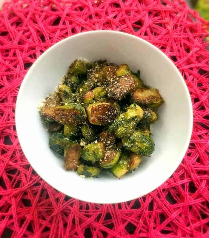 Brown Butter Sauteed Brussel Sprouts