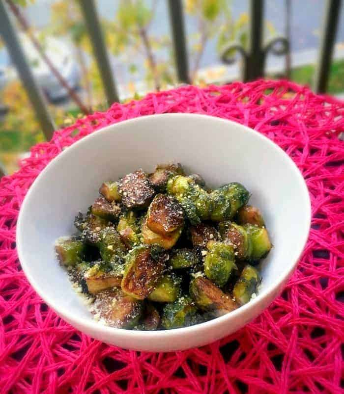 Brussel Sprouts in Brown Butter