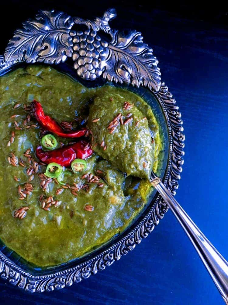 easy Sarson ka Saag recipe