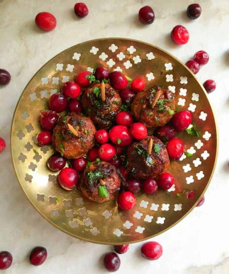 sweet-n-spicy-meatballs-with-cranberries