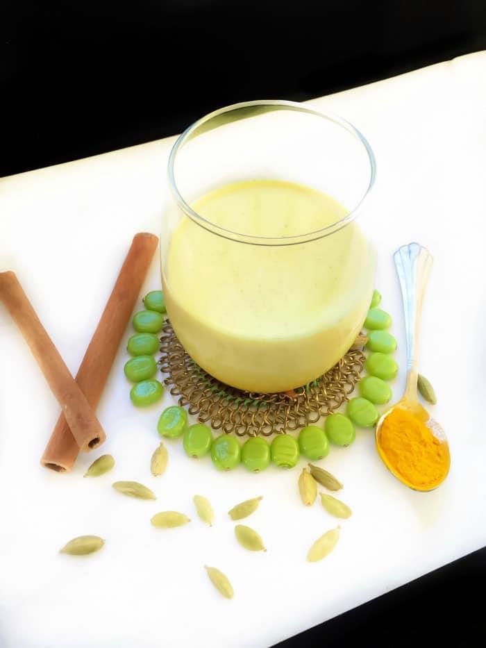 Turmeric-Cashew-Milk