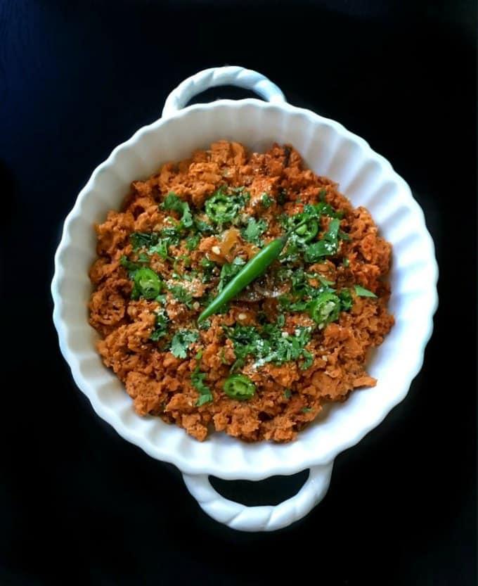Hyderabadi dum ka keema slow cooked minced chicken forumfinder Choice Image