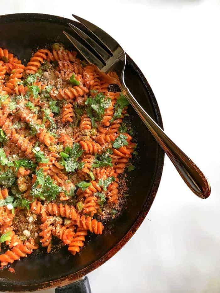 Tomato Peas Pasta