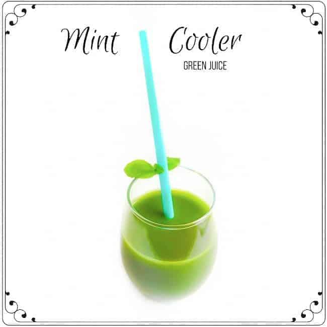 mint pineapple kale juice