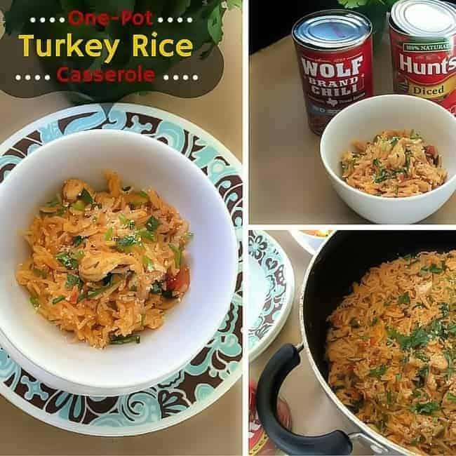 one-pot-turkey-rice-casserole