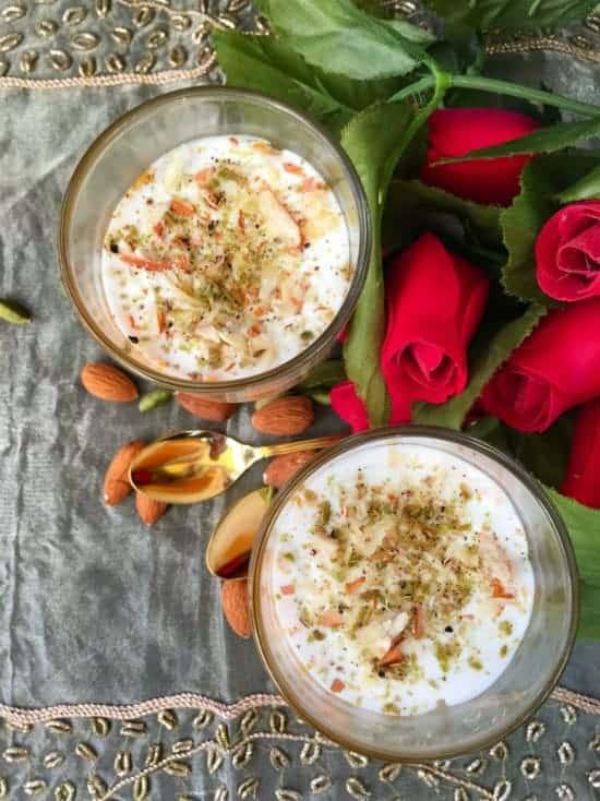 Gajar Halwa Pudding (Layered Indian Carrot Pudding)