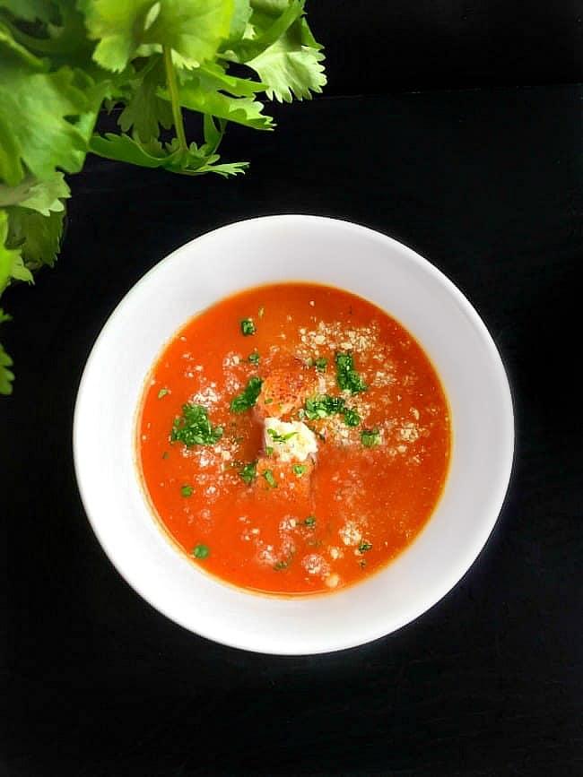 Authentic Spanish Tomato Gazpacho - Cold Tomato Soup Recipe