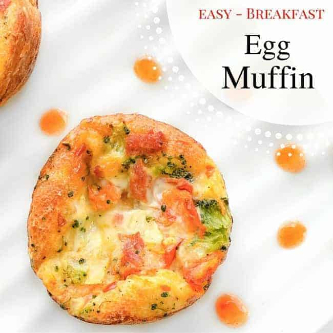 Easy Breakfast Egg Muffin