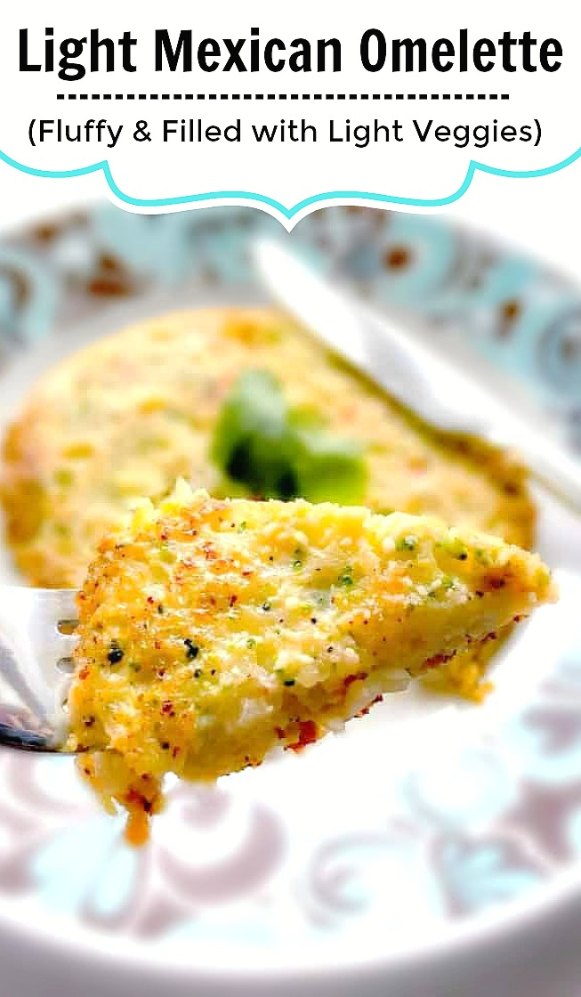 Light Mexican Omelette