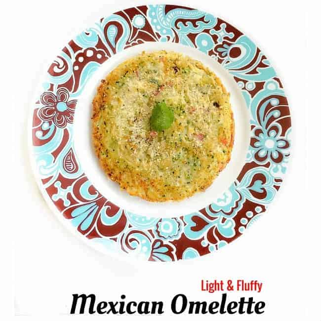 Light and Fluffy Mexican Omelette