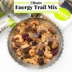 2 Minutes Energy Trail Mix Recipe