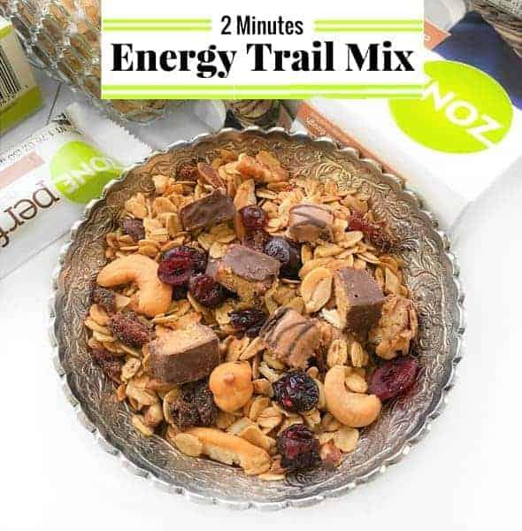 2 Minutes Energy Trail Mix Recipe