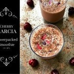 Cherry Garcia Power Packed Smoothie (V+GF)