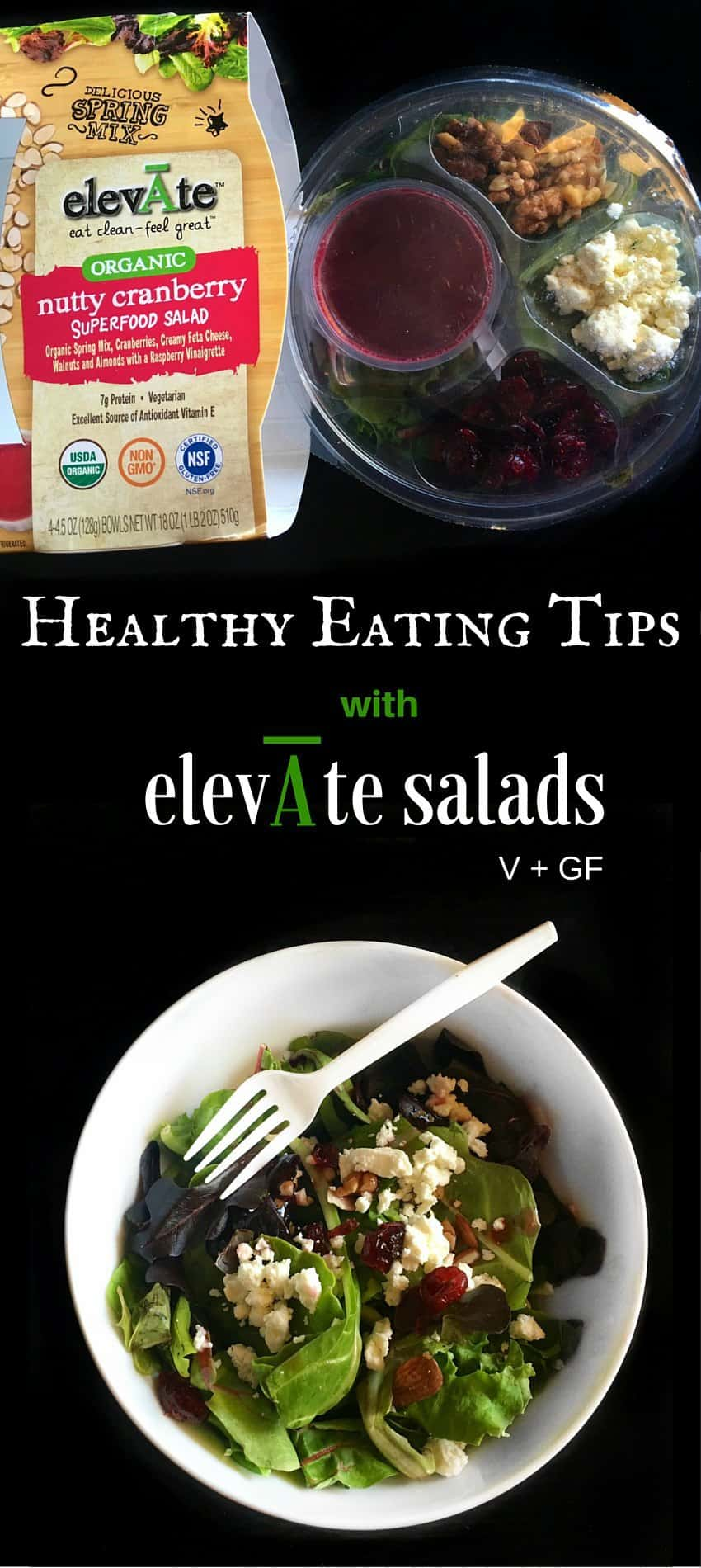 Healthy Eating Tips with elevate Salads : #ad #elevatesalads #healthy #tips #