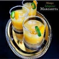 Mango Jalapeno Margarita  (3 Minutes Drink)