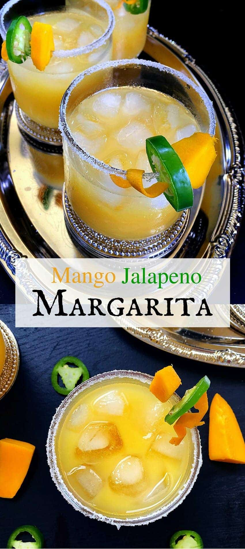 Mango Jalapeno Margarita (3 Mins Drink) #mango #margarita #drinks #cincodemayo #mothersday #tequila