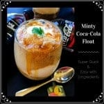 Minty Coca-Cola Float (Super Quick & Easy with 3 Ingredients)