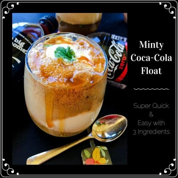 Coca-Cola Mint Float Recipe