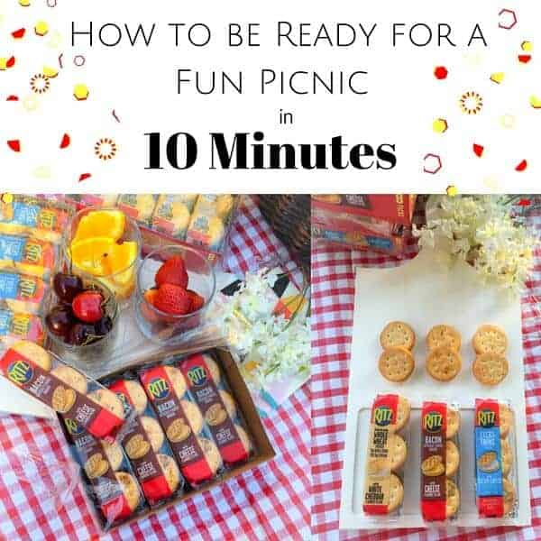 How To Be Ready For A Fun Picnic in 10 mins