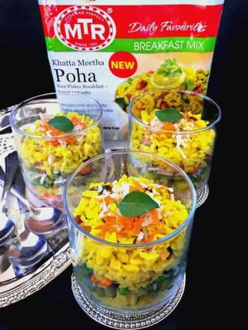 how to make MTR poha