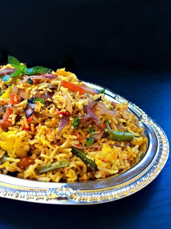 Restaurant Style Vegetable Biryani