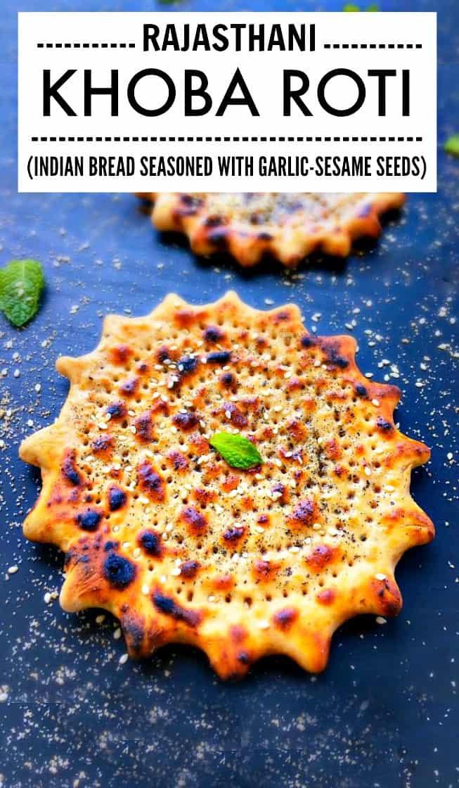 Rajasthani Khoba Roti - Khoba Roti #khoba #indianbread #roti