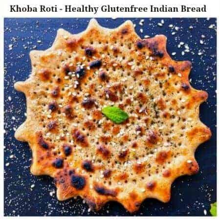 Garlicky Khoba Roti | Glutenfree Indian Bread