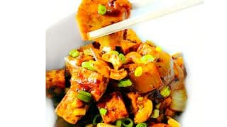 Ginger Cashew Tofu - 15 Minutes Weeknight Recipe