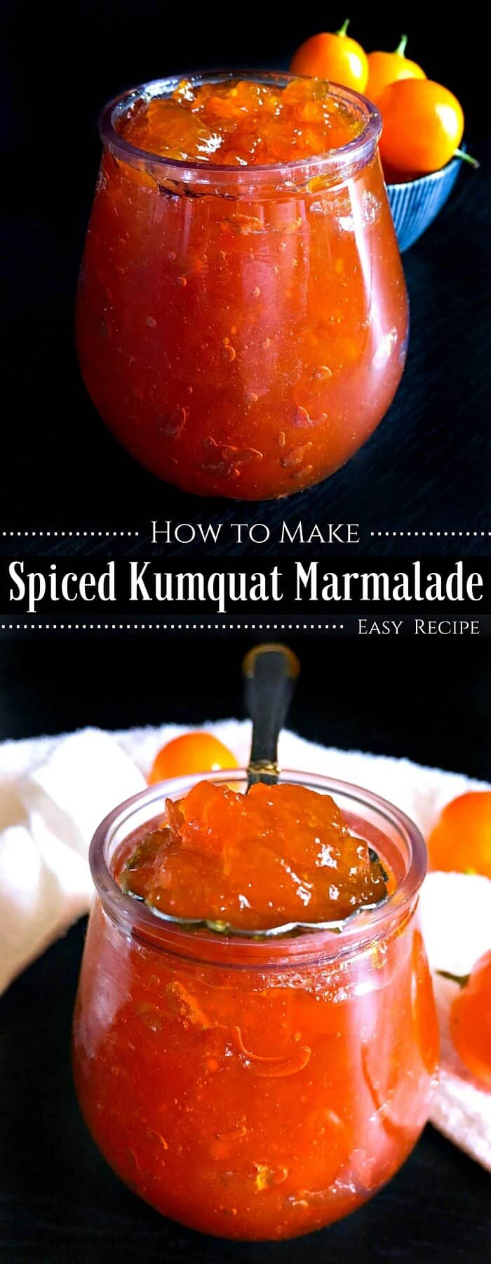 How to make a Kumquat Marmalade - Easy Recipe : #kumquat #marmalade #jam #recipe #orange
