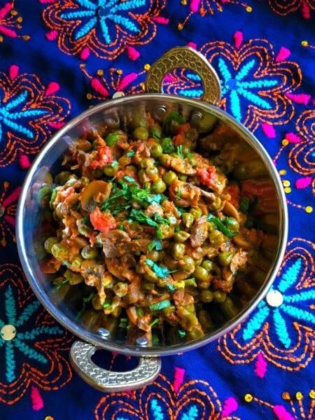 mushroom-curry-vegan