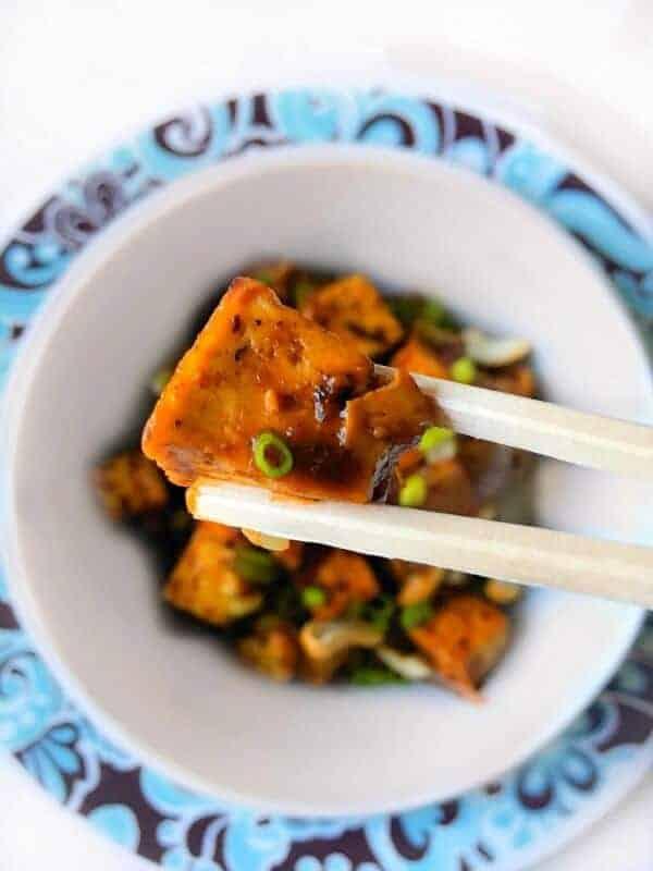 Ginger Cashew Tofu