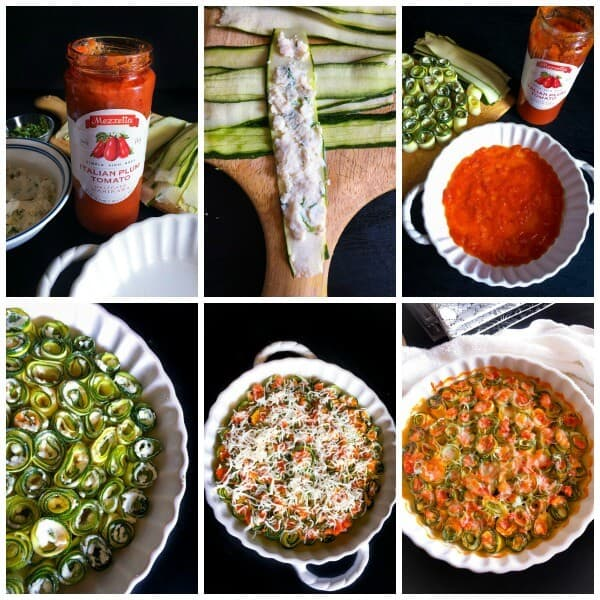Process for the 5 Ingredients Zucchini Roll-Ups
