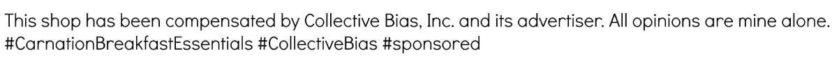 #CarnationBreakfastEssentials #CollectiveBias #sponsored