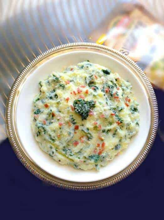 Loaded Mashed Potato and Kale