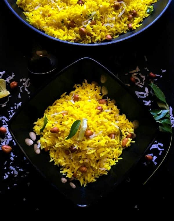 Indian Lemon Rice