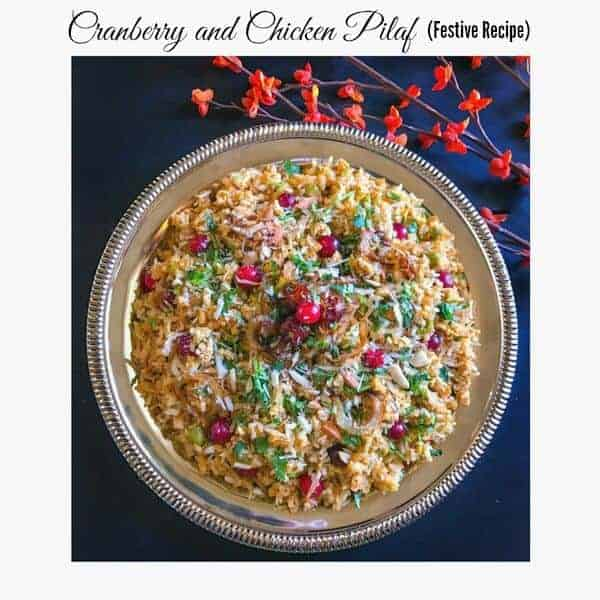 Cranberry and Chicken Pilaf – Festive Recipe