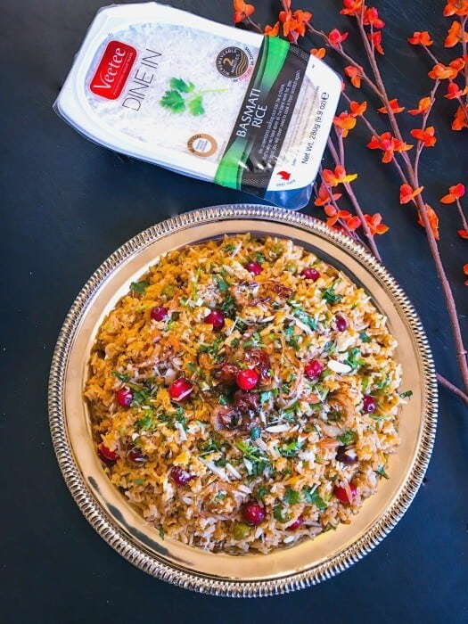 Cranberry and Chicken Pilaf - Festive Recipe