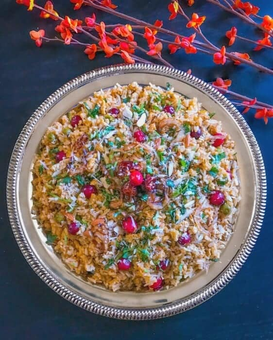 Cranberry Chicken Pilaf