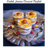 Gulab Jamun Dessert Parfait