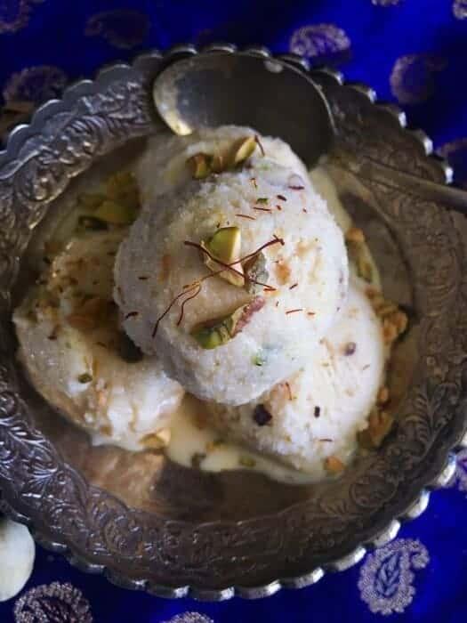 easy Saffron Ice Cream recipe