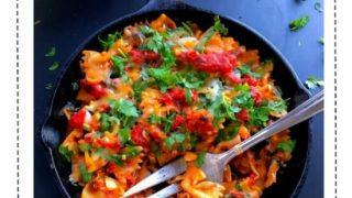Spicy Pumpkin Walnut Pasta (Weeknight Dinner Recipe)