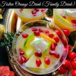 Quick Festive Orange Drink (Family Drink)